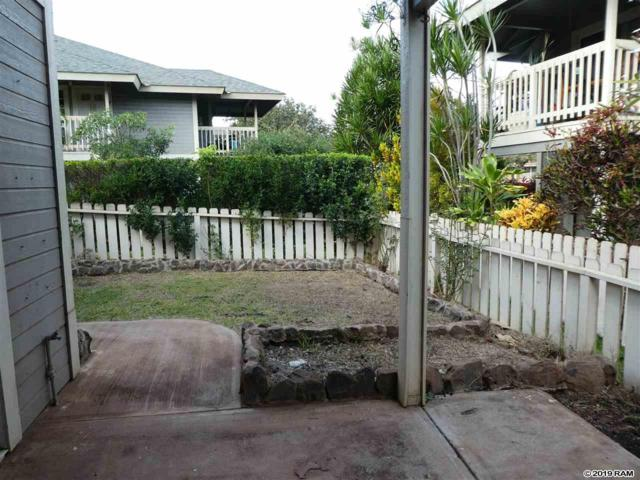 140 Uwapo Rd 31-106, Kihei, HI 96753 (MLS #381194) :: Team Lally