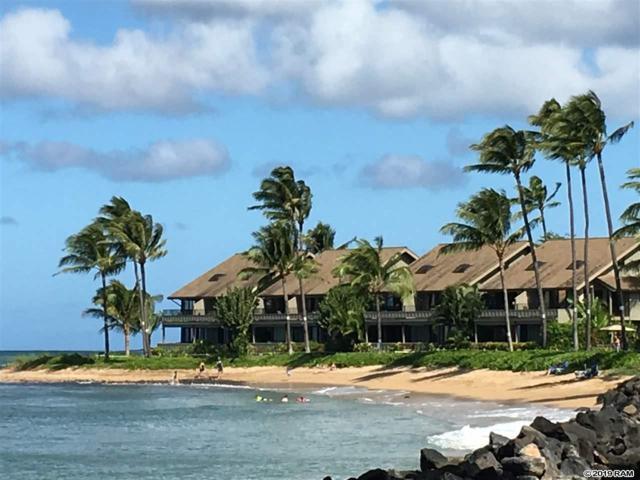 4471 Lower Honoapiilani Rd #114, Lahaina, HI 96761 (MLS #381247) :: Maui Estates Group