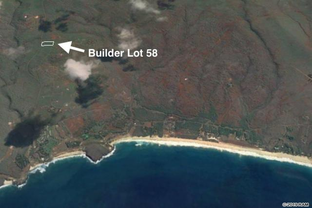 0 Kaula Rd Builder Lot 58, Maunaloa, HI 96770 (MLS #381268) :: Coldwell Banker Island Properties