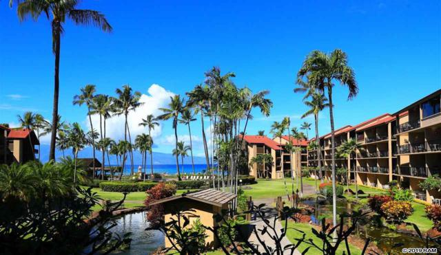 3543 Lower Honoapiilani Rd D206, Lahaina, HI 96761 (MLS #381314) :: Team Lally