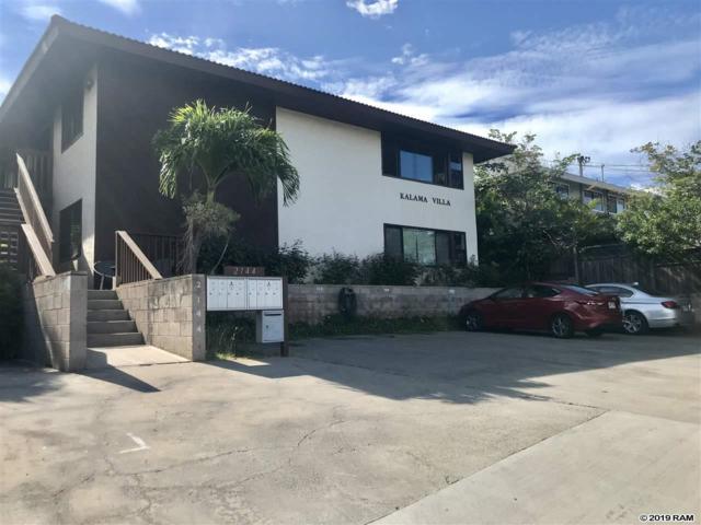 2144 Konou Pl #102, Kihei, HI 96753 (MLS #381331) :: Maui Estates Group