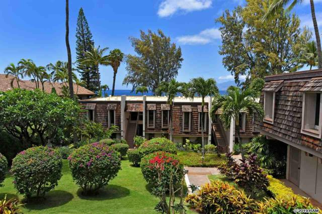 4007 Lower Honoapiilani Rd #112, Lahaina, HI 96761 (MLS #381366) :: Elite Pacific Properties LLC