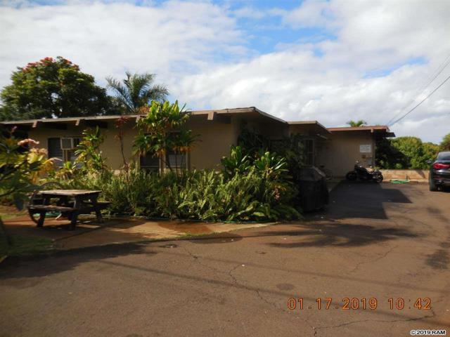 1597 Aa St, Lahaina, HI 96761 (MLS #381412) :: KW Island Living