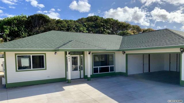 443 Aleo Pl, Kahului, HI 96732 (MLS #381479) :: Maui Estates Group