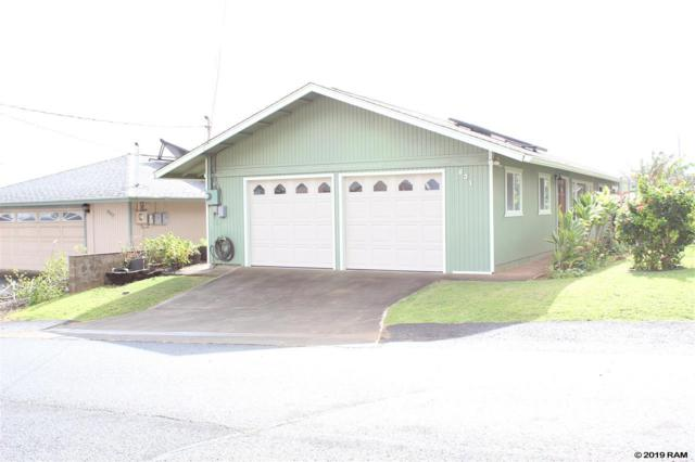 831 Upalu St, Wailuku, HI 96793 (MLS #381559) :: Maui Estates Group