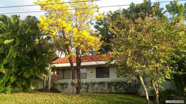 530 Pawali St, Kihei, HI 96753 (MLS #381977) :: Elite Pacific Properties LLC