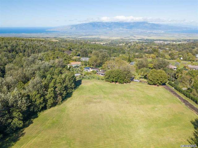 90 Alokele Pl #33, Makawao, HI 96768 (MLS #382079) :: Keller Williams Realty Maui