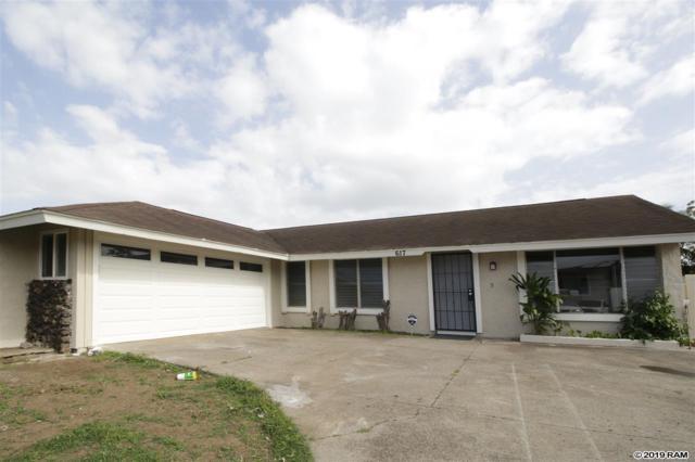 617 S Oahu St, Kahului, HI 96732 (MLS #382086) :: Elite Pacific Properties LLC