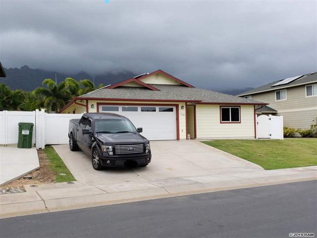 118 E Makaukau Loop, Wailuku, HI 96793 (MLS #382101) :: Maui Estates Group