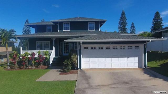 2981 Aina Lani Dr, Pukalani, HI 96768 (MLS #382105) :: Maui Estates Group