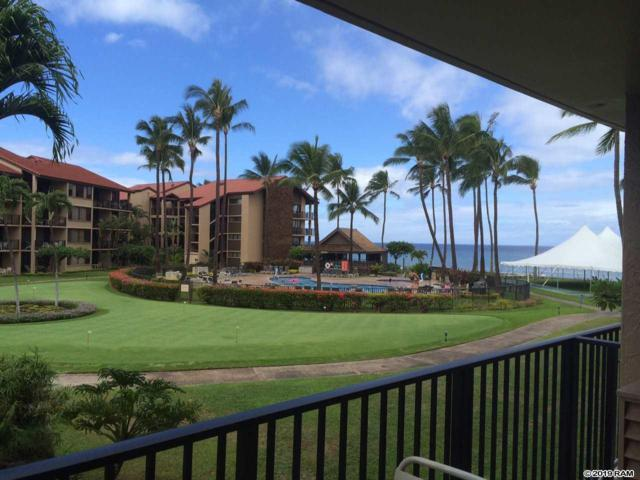 3543 Lower Honoapiilani Rd G-203, Lahaina, HI 96761 (MLS #382119) :: Maui Estates Group