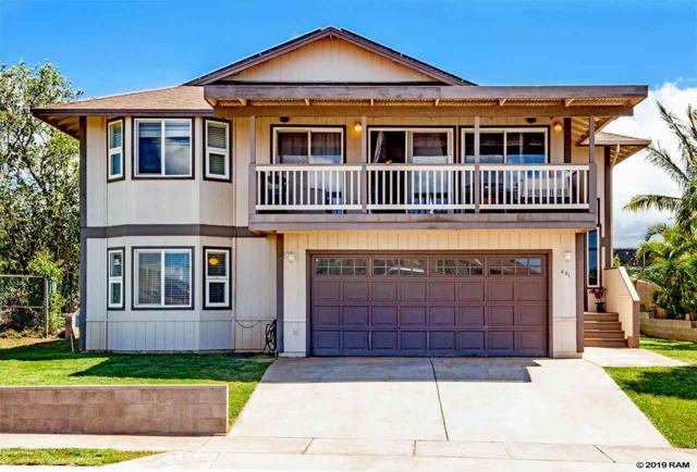 491 Kaiola St, Kihei, HI 96753 (MLS #382178) :: Coldwell Banker Island Properties