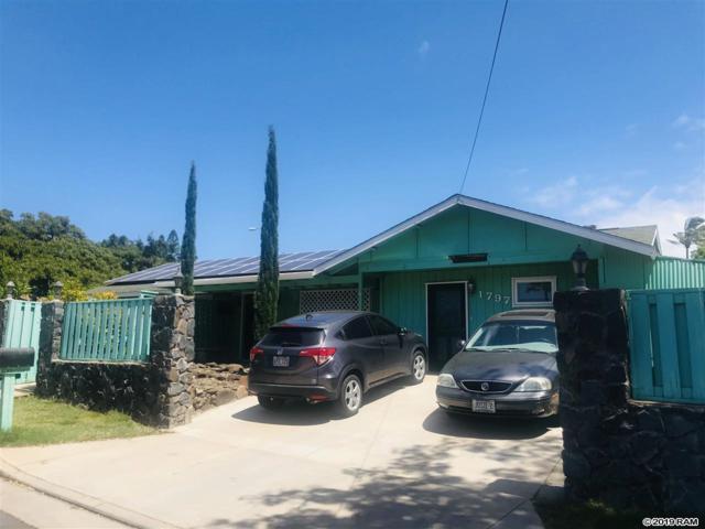 1797 Malama St, Kihei, HI 96753 (MLS #382204) :: Elite Pacific Properties LLC