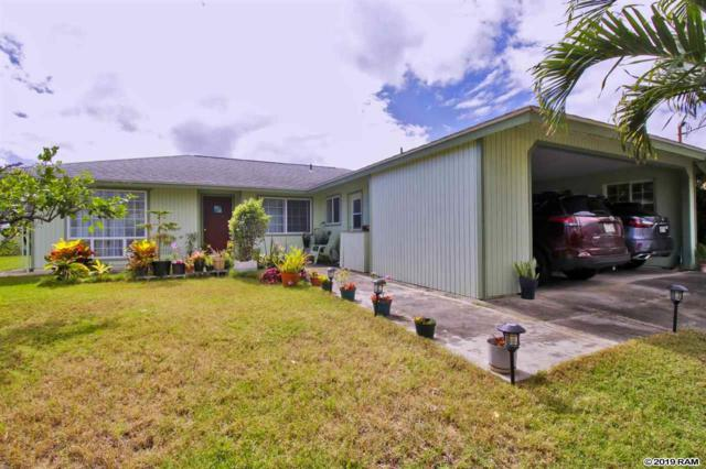 682 Hilinai St, Wailuku, HI 96793 (MLS #382373) :: Maui Estates Group