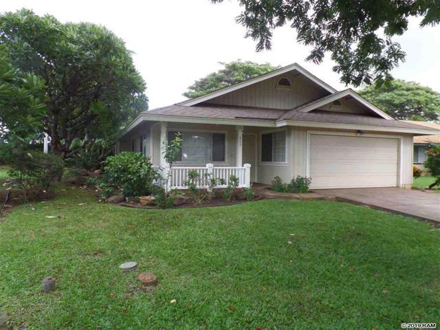 808 Mahealani Pl, Kihei, HI 96753 (MLS #382422) :: Maui Estates Group