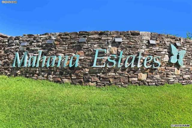 320 Mahana Ridge St #24, Lahaina, HI 96761 (MLS #382423) :: Maui Estates Group