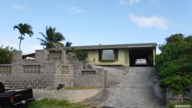 77 Kono Pl, Kahului, HI 96732 (MLS #382466) :: Elite Pacific Properties LLC