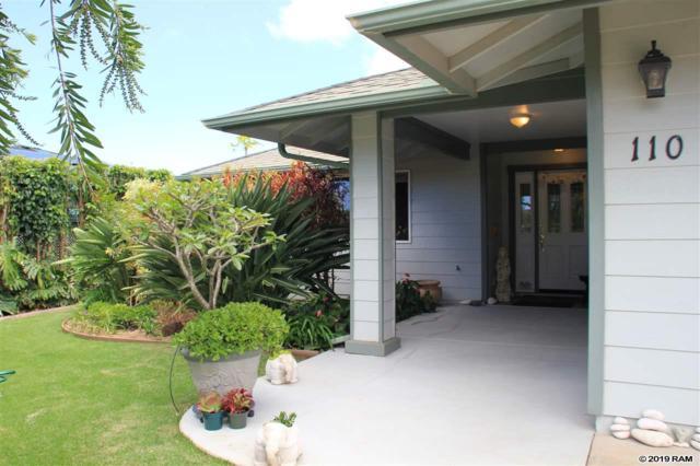 110 Haahaa St, Pukalani, HI 96768 (MLS #382686) :: Maui Estates Group