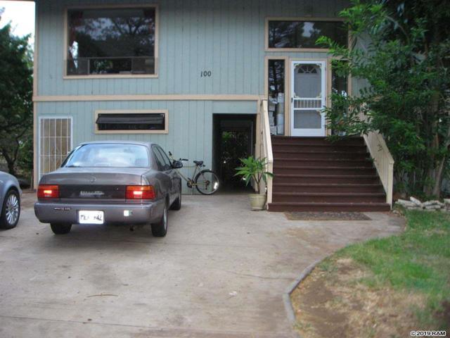 100 Mehani Pl, Kihei, HI 96753 (MLS #382723) :: Maui Estates Group