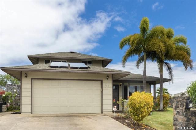 91 Kuukama St, Kahului, HI 96732 (MLS #382728) :: Elite Pacific Properties LLC