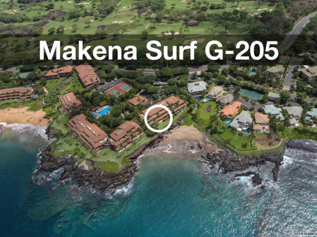 4850 Makena Alanui Rd G205, Kihei, HI 96753 (MLS #382785) :: Maui Estates Group