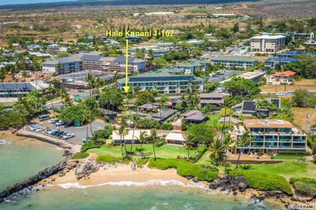 44 Kanani Rd 1-107, Kihei, HI 96753 (MLS #382798) :: Coldwell Banker Island Properties