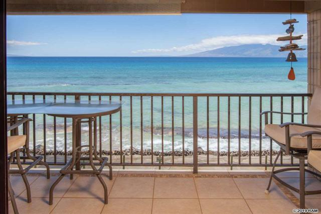 3785 Lower Honoapiilani Rd #310, Lahaina, HI 96761 (MLS #382834) :: Maui Estates Group