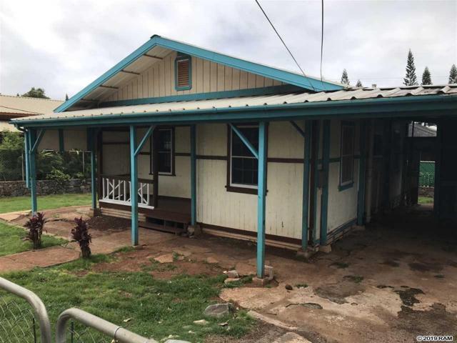 1695 Okana St, Kualapuu, HI 96757 (MLS #382961) :: Maui Estates Group