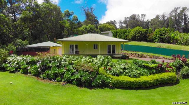 1515 Piiholo Rd, Makawao, HI 96768 (MLS #383048) :: Maui Estates Group