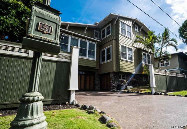 51 W Kapu Pl #1, Kihei, HI 96753 (MLS #383135) :: Elite Pacific Properties LLC
