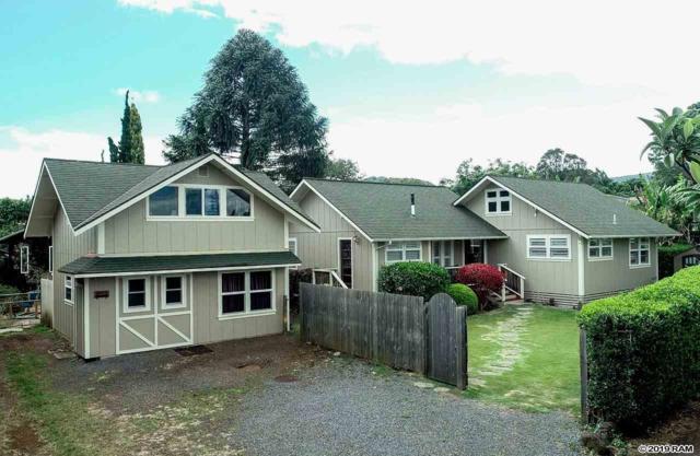 1150 Hemala St, Makawao, HI 96768 (MLS #383172) :: Maui Estates Group