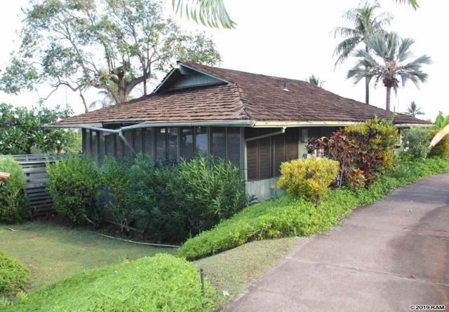 2750 Kalapu Dr #33, Lahaina, HI 96761 (MLS #383184) :: Coldwell Banker Island Properties