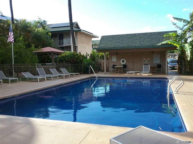 35 Walaka St P 109, Kihei, HI 96753 (MLS #383207) :: Maui Estates Group