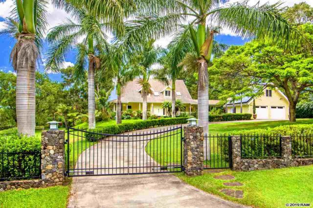 480 Aulii Dr, Pukalani, HI 96768 (MLS #383253) :: Elite Pacific Properties LLC