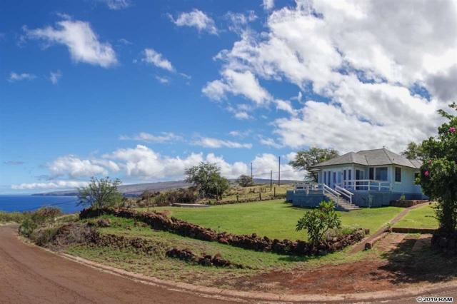 46 Kaumalapau Rd, Lanai City, HI 96763 (MLS #383435) :: Elite Pacific Properties LLC