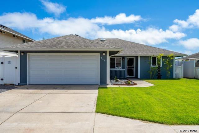 283 Kuualoha St, Kahului, HI 96732 (MLS #383531) :: Elite Pacific Properties LLC