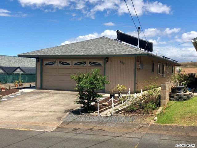 827 Upalu St, Wailuku, HI 96793 (MLS #383565) :: Maui Estates Group