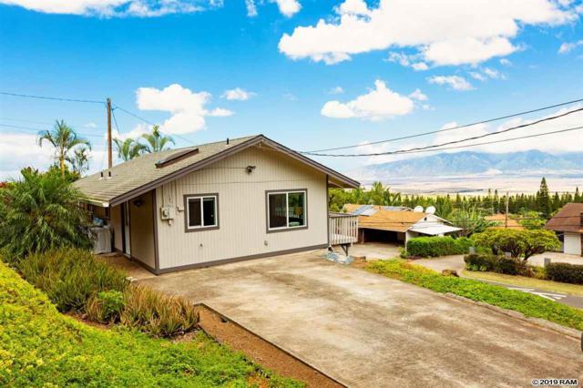 187 Haulani St #B, Pukalani, HI 96768 (MLS #383878) :: Maui Estates Group