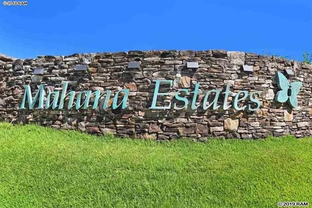 620 Mahana Ridge St #37, Lahaina, HI 96761 (MLS #384383) :: Maui Estates Group