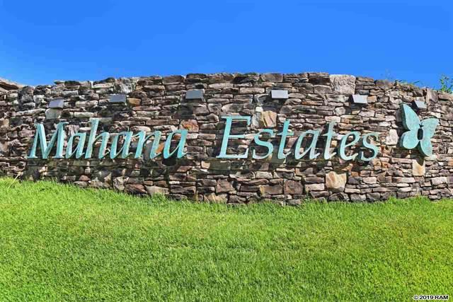 640 Mahana Ridge St #39, Lahaina, HI 96761 (MLS #384386) :: Maui Estates Group