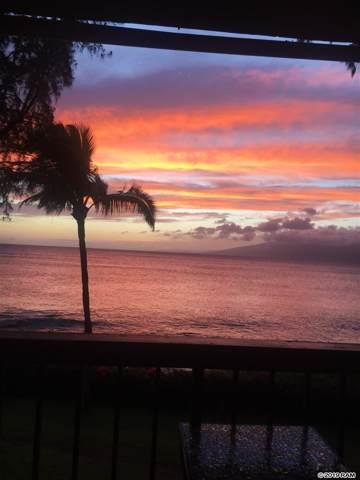 4007 Lower Honoapiilani Rd #204, Lahaina, HI 96761 (MLS #384599) :: Maui Lifestyle Real Estate