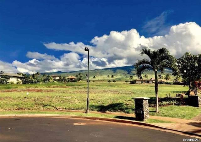 1015 Anapuni Pl Lot 62 Phase 1, Lahaina, HI 96761 (MLS #384610) :: Maui Estates Group