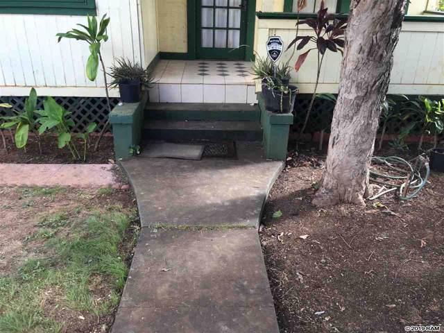 160 Mission St, Wailuku, HI 96793 (MLS #384960) :: Coldwell Banker Island Properties
