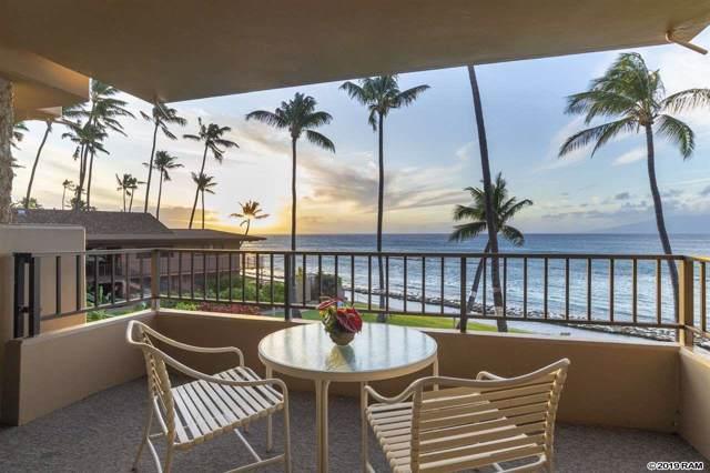 3601 Lower Honoapiilani Rd #206, Lahaina, HI 96761 (MLS #385149) :: Maui Estates Group