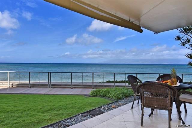 4401 Lower Honoapiilani Rd A104, Lahaina, HI 96761 (MLS #385177) :: Maui Estates Group