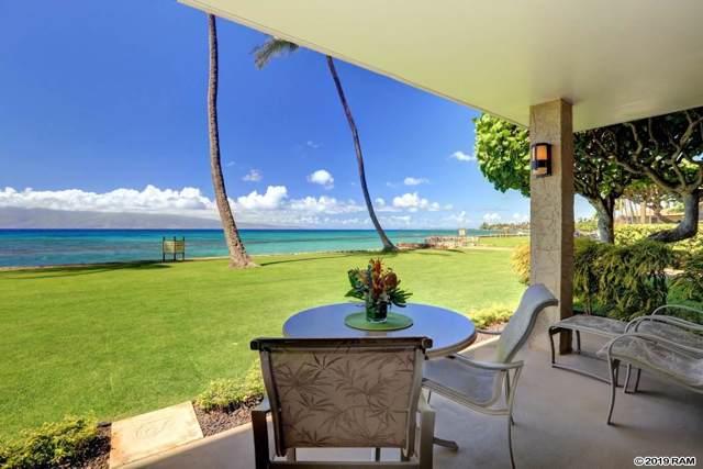 3543 Lower Honoapiilani Rd F110 9B, Lahaina, HI 96761 (MLS #385211) :: Maui Estates Group