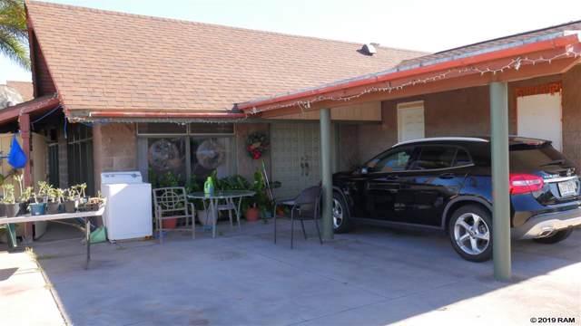 503 Waikala St, Kahului, HI 96732 (MLS #385289) :: Coldwell Banker Island Properties