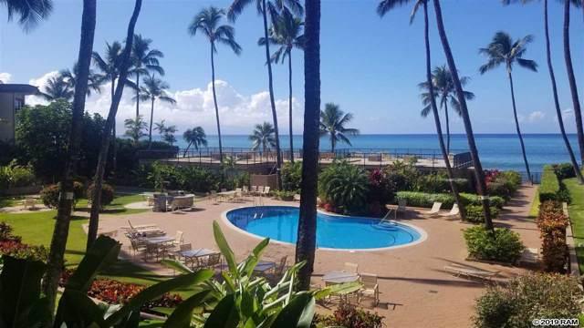 3823 Lower Honoapiilani Rd #210, Lahaina, HI 96761 (MLS #385337) :: Maui Lifestyle Real Estate