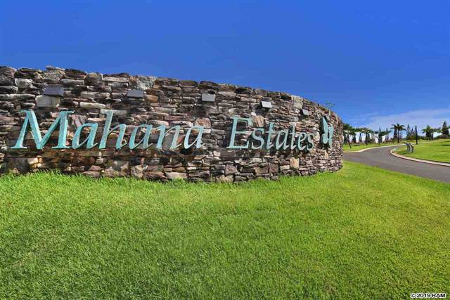 540 Mahana Ridge St Lot 34, Lahaina, HI 96761 (MLS #385389) :: LUVA Real Estate