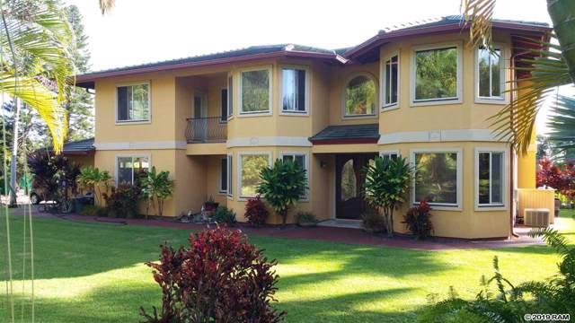 580 Anekona St, Wailuku, HI 96793 (MLS #385396) :: Elite Pacific Properties LLC